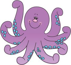 Great free clipart, png, silhouette, coloring pages and drawings that you can use everywhere. Clip Art Pictures, Art Images, Cute Pictures, Cartoon Fish, Cute Cartoon, Kraken Octopus, Ocean Themes, Chalk Art, Sea Creatures