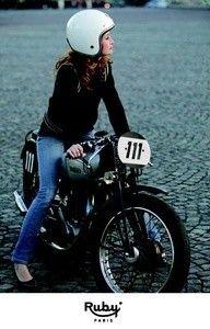 ruby womens motorcycle helmet