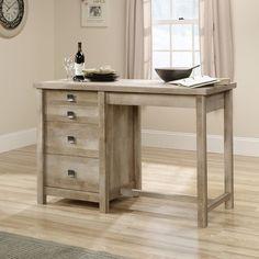 saudera cottage desk 30 1 4h x 52 1 2w x 23 1 2d rainwater