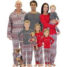 The matching family Christmas pajamas that include pjs for the dog! #matching #pajamas #christmas #holidays #family Toddler Christmas Outfit, Matching Family Christmas Pajamas, Family Pjs, Holiday Pajamas, Matching Pajamas, Matching Family Outfits, Family Gifts, Cute Christmas Cards, Christmas Pjs