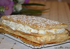Pastry Recipes, Cake Recipes, Cooking Recipes, Napoleon Cake, Sweet Cakes, Desert Recipes, Sweet Bread, Cakes And More, Vegan Desserts