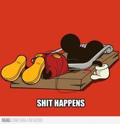 Noooo !! Not you Mickey !
