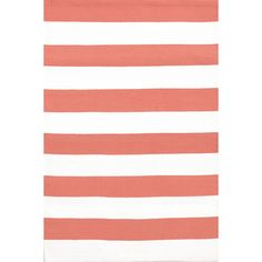 "Say ""Hello, sailor!"" to our latest color variations of our best-selling preppy stripe indoor/outdoor area rug."