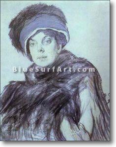Portrait of Princess Olga Orlova - £124.99 : Canvas Art, Oil Painting Reproduction, Art Commission, Pop Art, Canvas Painting
