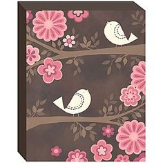 Chirp Set of 2 Wall Canvas - jcpenney $37
