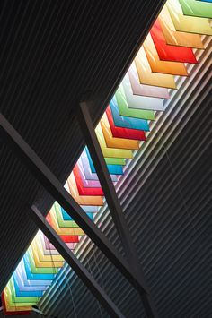 "The Chapel by a21studio is like ""a big colourful lantern""."