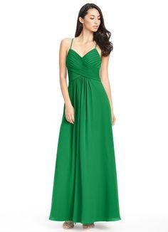 815966206b6 AZAZIE HALEIGH. Haleigh is a lovely floor-length bridesmaids dress with an  A-