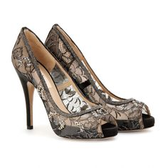 Prettiest shoes I've seen in a very long time. I love lace and anything designed  by Valentino