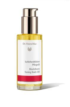 Körperöl Dr. Hauschka Schlehenblüten Pflegeöl unisex, kräftigendes Körperöl, 75 ml, 1er Pack (1 x 192 g)