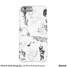 Black & white design iphone case barely there iPhone 6 case
