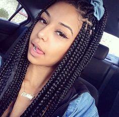 Cute box braids x
