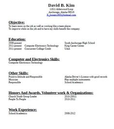 Resumes With No Work Experience 41 Best Resume With Cover Letter Images On Pinterest