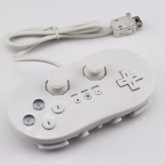 Classic White/Black I Games Joystick Silicone Soft Gamepad Snes Controller For Nintendo Wii Video Game Console