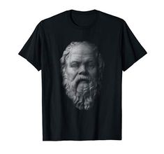 Socrates, Portrait, Branded T Shirts, Fashion Brands, Face, Stuff To Buy, Tops, Men Portrait, Shell Tops