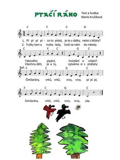 Pip Paper Birds, Kids Songs, Music Lessons, Sheet Music, Mario, Preschool, Notes, Studying, Report Cards