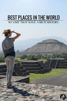 You can visit an array of sites from a wide cultural background keeping in mind the pyramids of the Egyptians and Mexicans or a Zen monastery in Japan or just the forts in Scotland or the colosseum in Rome. You can be assured of a magical experience when you soak them all in. ★ Explore more: http://glaminati.com/places-in-the-world-to-visit/?utm_source=Pinterest&utm_medium=Social&utm_campaign=FI-places-in-the-world-to-visit