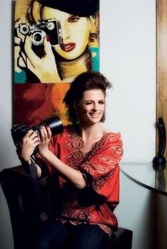 "Stana Katic - never heard of her, but that doesn't mean she's not a ""celebrity"" - she's got a camera."