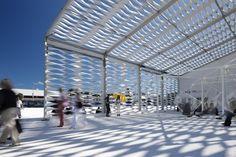 Design Miami Tent by Moorhead & Moorhead.