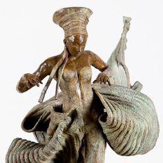 Kunst - brons beeld - Dance - Rieke van der Stoep