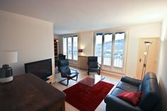 BYP-830 - Furnished 3 bedroom apartment for rent , 90 m² Quai Alphonse Le Gallo, Boulogne 92100, 2250 €/M