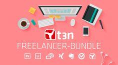 """Gewinn jetzt das """"t3n-Freelancer-Bundle"""". Viel Glück!"""
