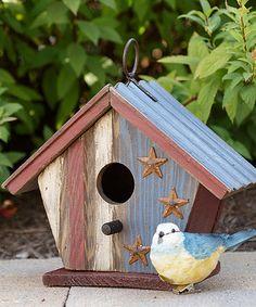 Look at this #zulilyfind! Americana Birdhouse #zulilyfinds