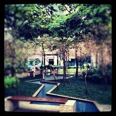 Os jardins de Sampa