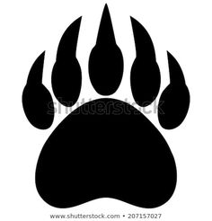 Find Bear Claw Print stock images in HD and millions of other royalty-free stock photos, illustrations and vectors in the Shutterstock collection. Thousands of new, high-quality pictures added every day. Wolf Paw Print, Bear Paw Print, Bear Paw Tattoos, Foot Tattoos, Tatoos, Tattoos Pics, Bear Stencil, Claw Tattoo, Wildlife Quilts