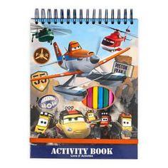 Planes: Fire & Rescue Activity Book