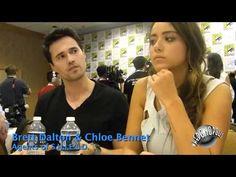 "Agents of S.H.I.E.L.D.: Brett Dalton - ""Grant Ward"" & Chloe Bennet - ""Skye"""