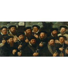 Kaartjes sturen Dirck Jacobsz. Twaalf schutters, 1563