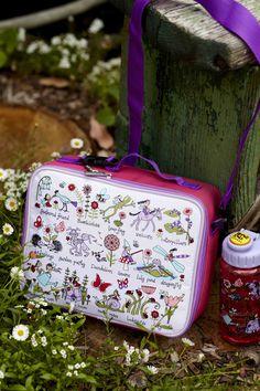 Tyrrell Katz Secret Garden Wash Bag