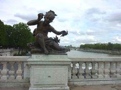 The 19th century Pont Alexandre III is the most beautiful bridge in Paris.