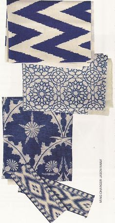 """That """"ikat tape"""" by Travers for Zimmer + Rohde"""