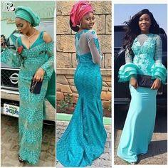Latest Glamorous Asoebi Styles
