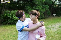 """SEVENTEEN - DK & Joshua """"This is not intended photo, DK is not bullying hyung"""""""
