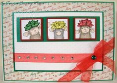 House-Mouse & Friends Monday Challenge: Getting Ready for Christmas with Challenge #HMFMC132