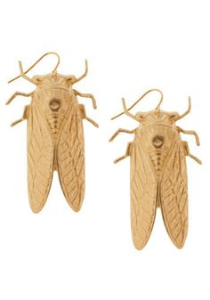 """Read the description.  If you live in Missouri, you know the reign of cicadas every 7 or so years is anything but """"precious.""""  Why would I want them hanging from my head?"""