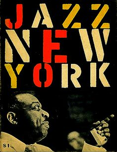 Program for First-Ever New York Jazz Festival (1956)
