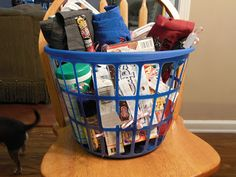 Gift Basket 101: College Edition Ideas for the perfect graduation gift or care package!