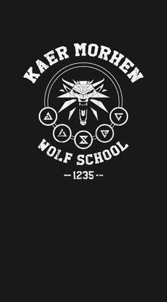 Wallpaper Kaer Morhen Wolf School para celular