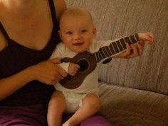 Guitar Onesie - ok this is pretty cute lol