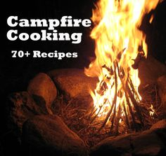 This is a wonderful post with MANY great camp recipes.  Includes a Don't Forget to Bring List, Dutch Oven Use,  Beverages, Breakfast Foods, Lunches, Dinners, Vegetables, Breads, Snacks and Desserts!