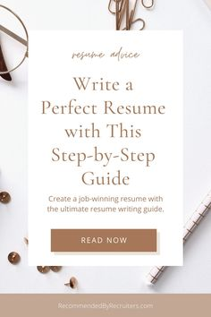 This step-by-step resume writing guide based on expert advice is created to make your job search easier. From your #contact details to the length and formatting, this guide has all your resume-writing questions covered. It's filled with actionable #tips and tricks, samples and templates. It has never been easier to write the best resume you have ever had. Click on link, learn how to write a perfect CV and land your dream #job. #jobsearch #rbyr #cvguide #resume