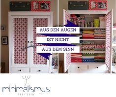 #Minimalismus leben heisst, sich mit jedem Objekt intensiv auseinandersetzen. http://minimalismus.ch/aufraumen-tipps-ordnungstipps/