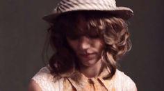 Free People February Catalog Video Features Freja Beha Erichsen #hair trendhunter.com