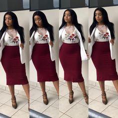 Corporate Fashion, Corporate Attire, Business Casual Attire, Professional Attire, Classic Work Outfits, Classy Outfits, Stylish Outfits, Work Fashion, Fashion Outfits