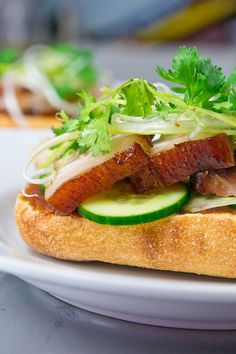 Spicy Peanut Butter & Pork Belly Sandwich by No Recipes