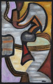 Composition, Jean-Michel Atlan, 1956 Galerie des Modernes #Atlan