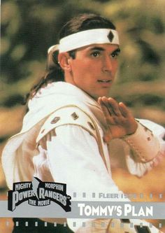 Mighty Morphin Power Rangers: The Movie - Lobby card with Jason David Frank. The image measures 731 * 1032 pixels and was added on 19 August Power Rangers 1995, Original Power Rangers, Power Rangers Movie, Go Go Power Rangers, Tommy Power, Tommy Oliver Power Rangers, Childhood Movies, 90s Movies, Power Rangers Pictures